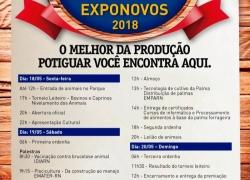 18 a 20 de Maio – EXPONOVOS – Currais Novos – RN