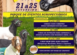 1ª EXPO AGRO GRAVATÁ 21 a 25 de Fevereiro.
